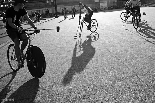 spring shadows / Komazawa park 21st, Mar, 2010