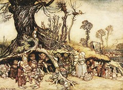 by Arthur Rackham (sofi01) Tags: childrenbook vintagebook vintageillustration arthurrackham childrenillust