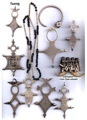 Tuareg jewellery Niger 1950-60's