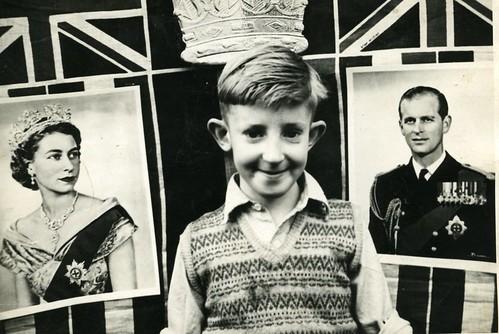 Jim Coronation Day,1953