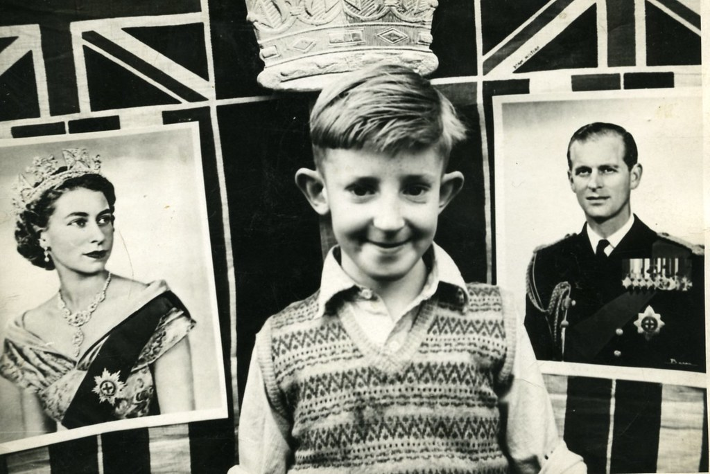 Jim Coronation Day,1953