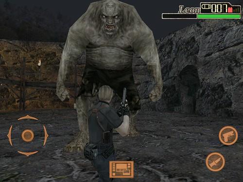 Resident Evil 4 iPad Plagas Majini