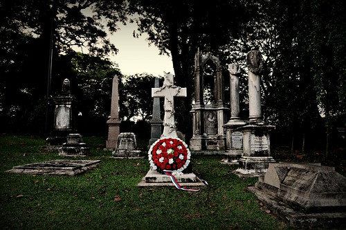 Christian Cemetery, Fort Canning
