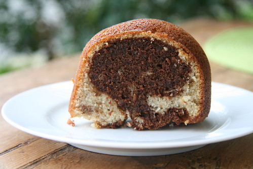 Mocha Walnut Marbled Bundt Cake - Tuesdays with Dorie