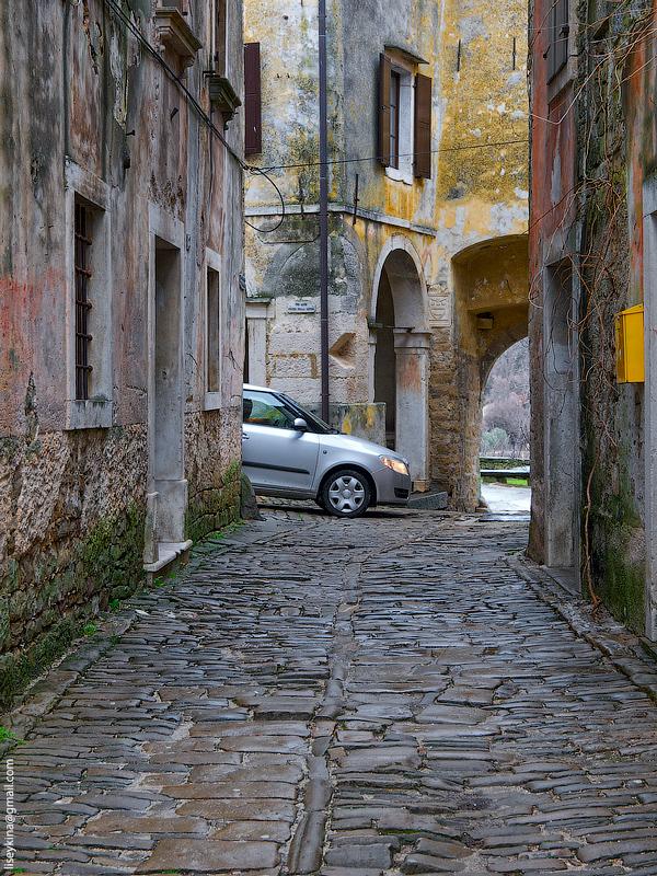Groznjan. Croatia