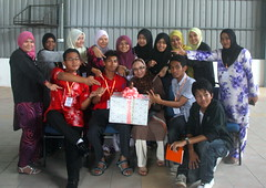 Group photo - G5 (UmmAbdrahmaan @AllahuYasser!) Tags: malaysia 991 tokbali ummabdrahmaan himpun2