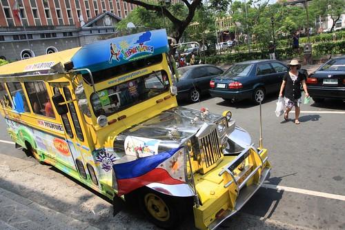 带空调的Jeepny