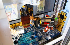 Doctor's Office Left Angle (Imagine) Tags: tower architecture airplane toys lego billboard artdeco rapture littlesister bigdaddy moc watercity bioshock lifelites imaginerigney brickworld2011
