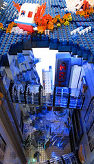 Rapture Water Plane Tunnels Sand Full (Imagine) Tags: tower architecture airplane toys lego billboard artdeco rapture littlesister bigdaddy moc watercity bioshock lifelites imaginerigney brickworld2011