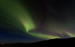 Baos de aurora (Islandia) (martin zalba) Tags: stars landscape star iceland islandia paisaje aurora estrellas estrella boreal
