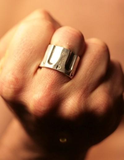 .44 Caliber Revolver Ring