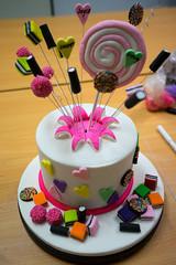 Front view of my cake (joyceandjessie) Tags: cakeclass
