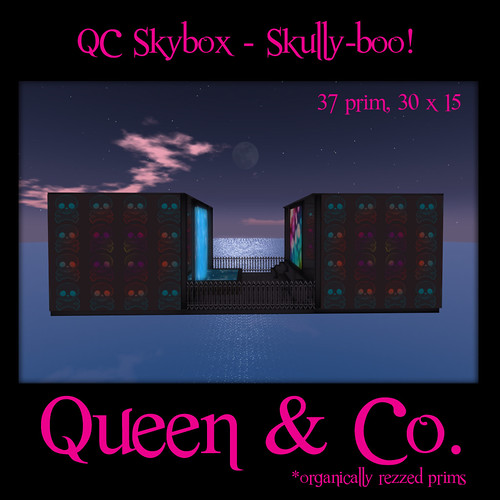 Queen & Co. - QC Skybox - Skully-boo!!