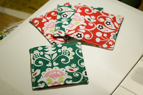 Christmas coasters 4