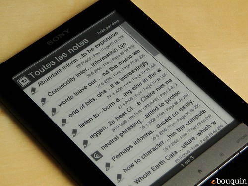 Sony Reader Touch Edition 29 sur 91