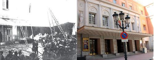Incendio del Teatro de la Zarzuela de Madrid