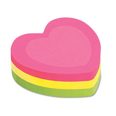 Heart Sticky Notes