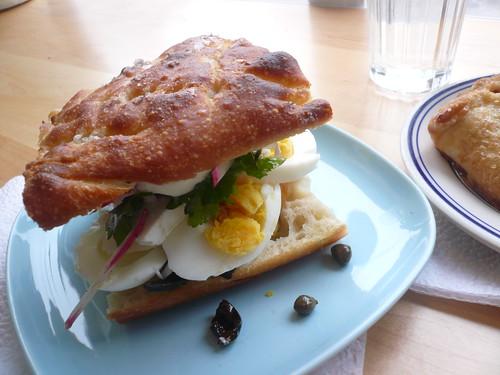 Saltie sandwich