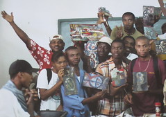 Encaustic Students 1, Haiti