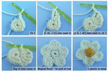 Crochet Flower Fridgies (pics)