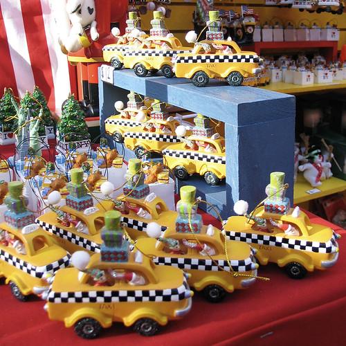 Christmas taxis, 2009