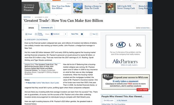 How You Can Make $20 Billion - WSJ.com_1258669617419