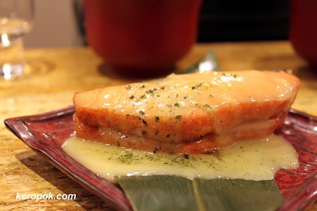 Salmon Yuzu Yama-mayo yaki