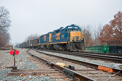 CSX2636 Rolling Out