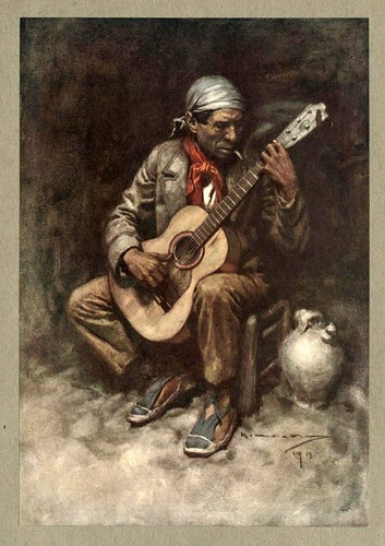 015- Un gitano granadino-An artista in Spain 1914- Michael Arthur C.