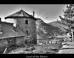 ubuk Gl - BOLU (Ozcan MALKOCER) Tags: bw lake windmill forest mine 1855mm hdr bolu gynk blackwhitephotos canonrebelxti ubukgl
