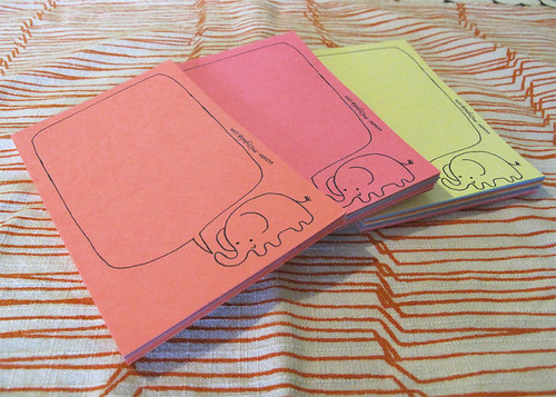 Elephant Talk Mini Notepad
