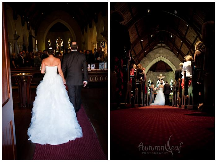 Simone and Jeremy's Wedding - Procession (by Autumnleaf Photography)
