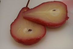 Rosy Poached Pear (Tart) Tuesdays with Dorie