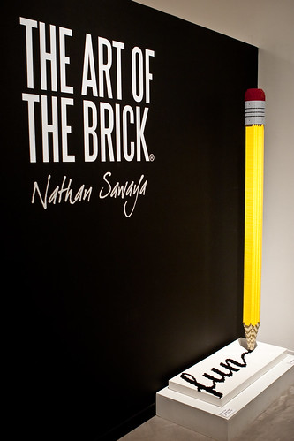 Art of the Brick Exhibit