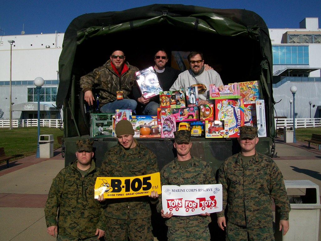 Camp Carr's Toys for Tots at Turfway