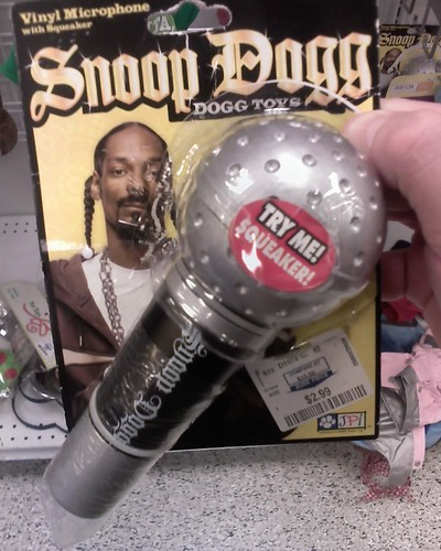 Snoop Dogg brand dog toy