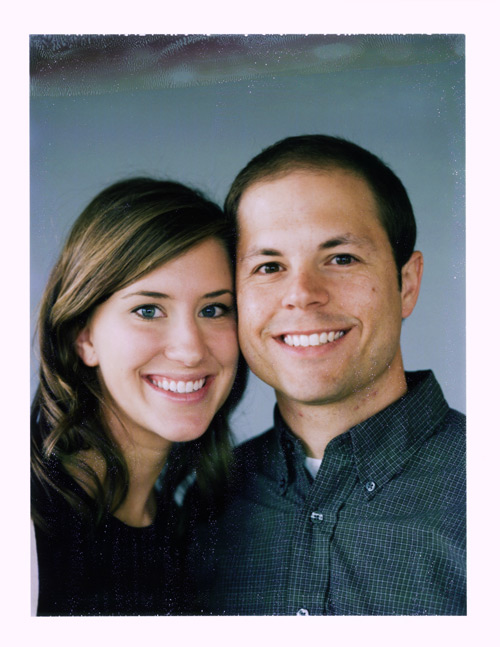 Image of Robert and Casey:  Engagement Polaroids