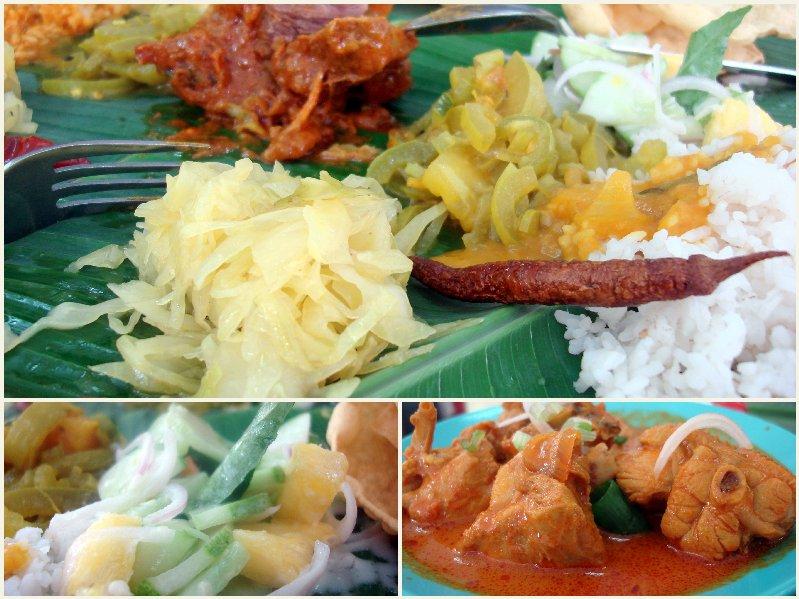 Banana Leaf rice at Purnama Cahaya