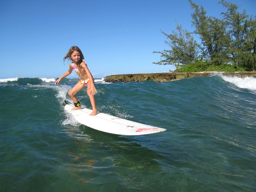 Melia Gore - Roxy's Youngest Surfer