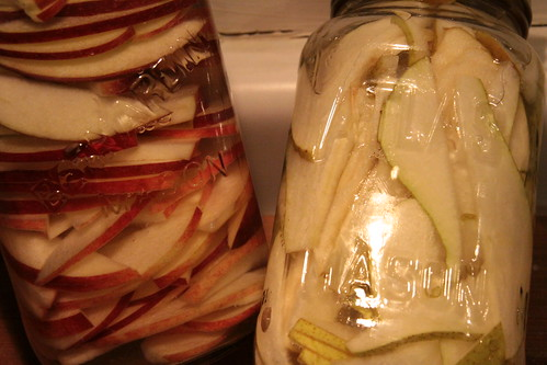 11 Days of Feastmas   Infusing Vodka with Apples and Pears Vodka Preserving Recipes Pear Apple 11 Tastes of Feastmas 11 days of feastmas