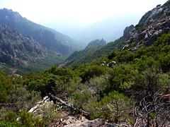 Les pentes finales avant le col 971 m