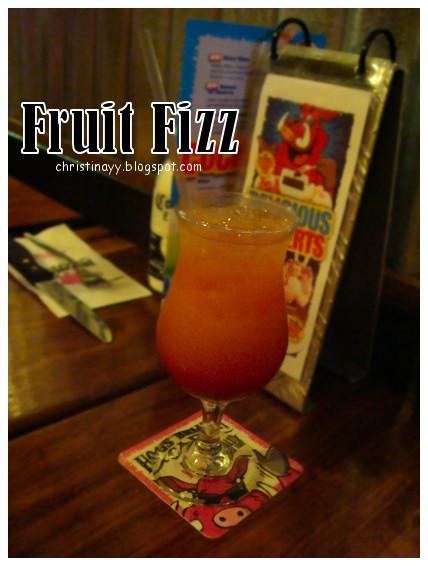 Hog's Breath Cafe: Fruit Fizz (New)