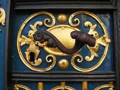 Blue door detail, Wrocław (EuCAN Community Interest Company) Tags: poland 2009 eucan milicz baryczvalley
