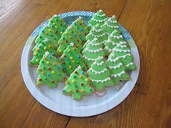Christmas Tree Cookies hebron ky