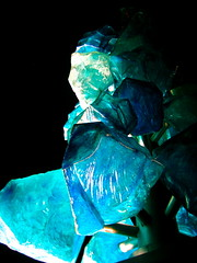 Museum of Glass. (alixcarmanphotography) Tags: city bridge blue winter sculpture black chihuly tower art glass museum night catchycolors dark lights washington downtown tacoma dalechihuly 2009 museumofglass chihulyglass chihulybridge