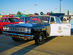 LAPD 1968 Plymouth Belvedere (StevenM_61) Tags: car automobile texas plymouth policecar belvedere 1968 carshow fortworth lapd adam12 losangelespolicedepartment