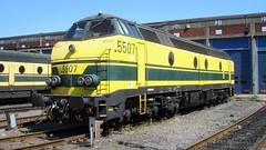 DSC09093 (Laufbe) Tags: train tsp stoom pft nmbs electrique vapeur sncb guillemins