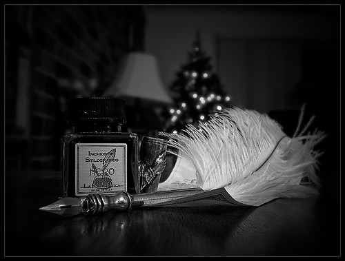 Quill & Ink - B&W