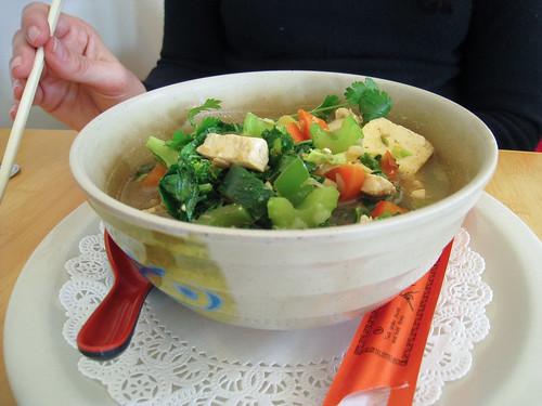Steamed Veggie Bowl