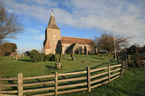 The Parish Church of St Mary the Virgin, St Mary in the marsh, Kent